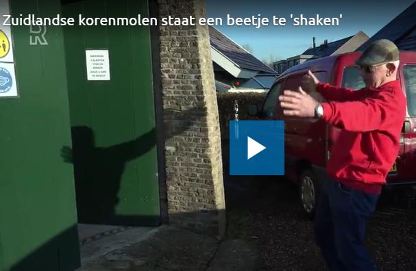 Molen De Arend op RTV Rijnmond